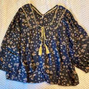 Cotton blouse.
